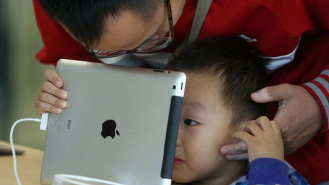 Over 70% of infants use e-gadgets in Macau