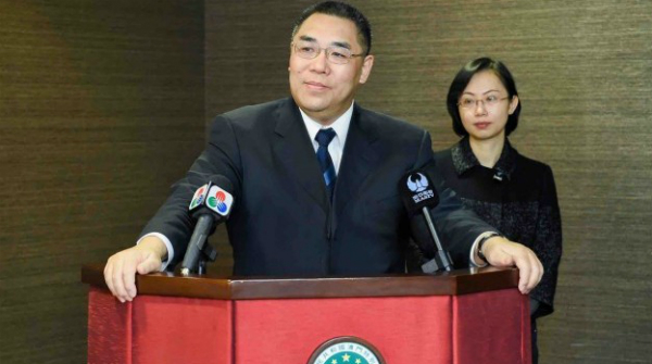 Chui stresses patriotism, national security in New Year's speech