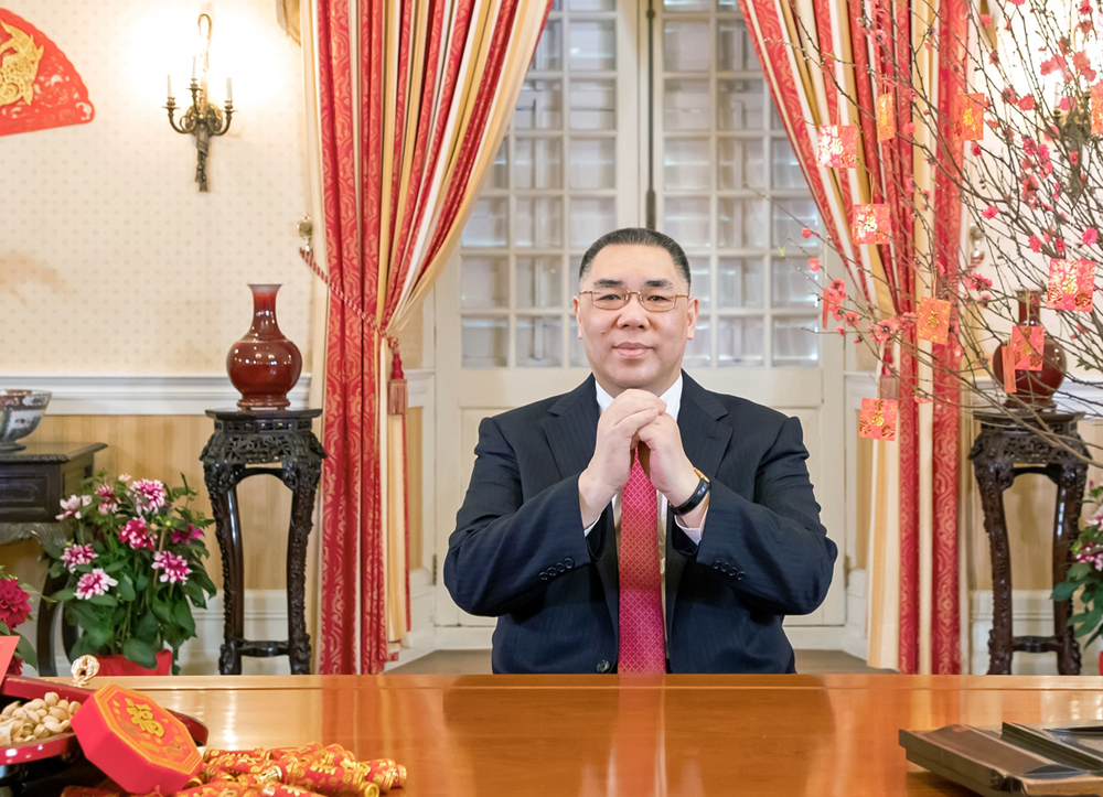 Macau government ready to response to challenges of the Year of the Pig: Chief Executive