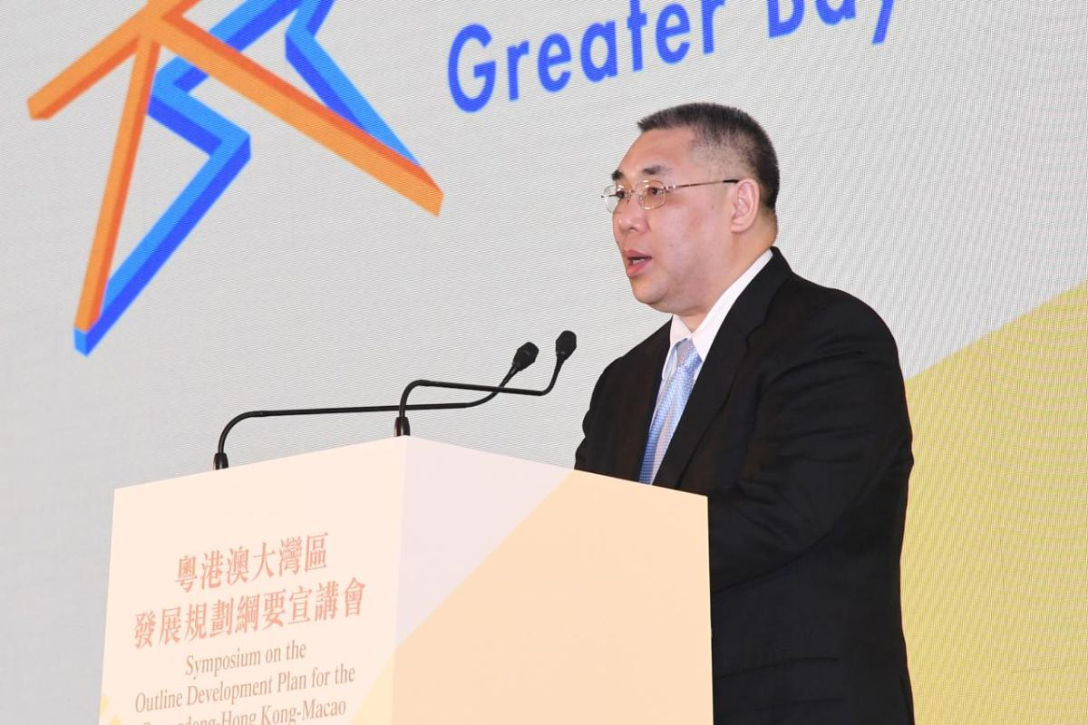 Chui vows Macau will actively participate in GBA project