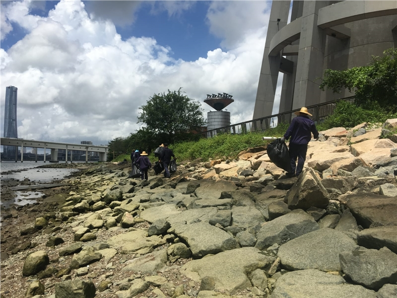 Government removes 2 tonnes of rubbish from Sai Van waterfront