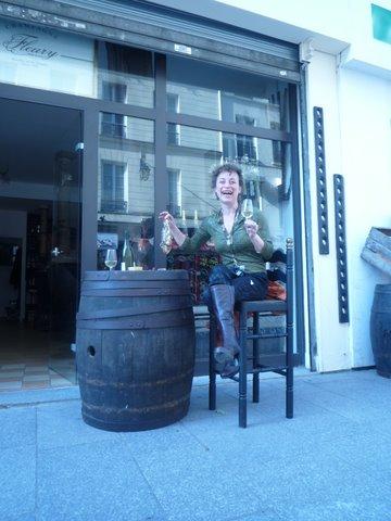 Ma Cave Fleury, Morgane, un tonneau, un verre