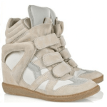 Isabel Marant wedge sneakers look a likes