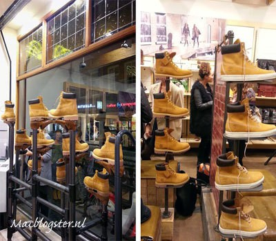 Timberland yellow boot