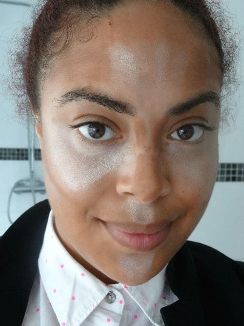 contouren met make-up