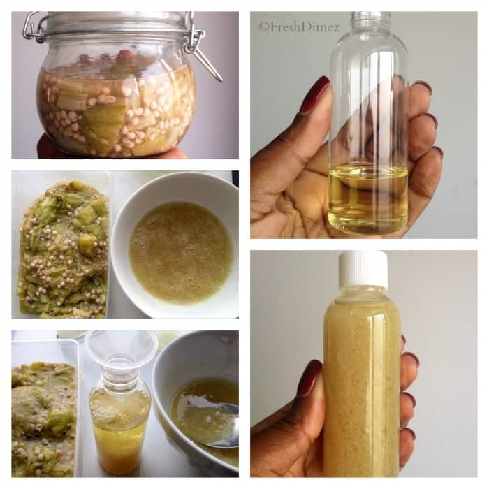 DIY Oker leave-in conditioner maken