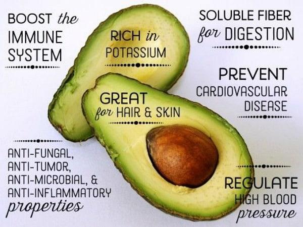 Avocado gebruiken voor haarmasker