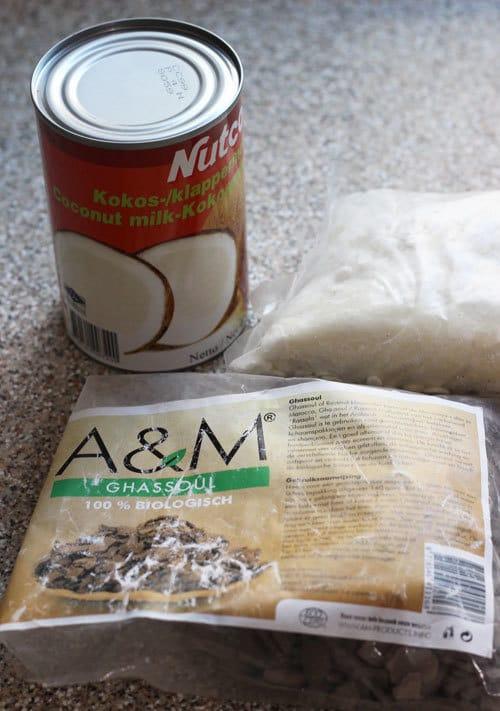 ghassoul kleimasker voor droog krullen