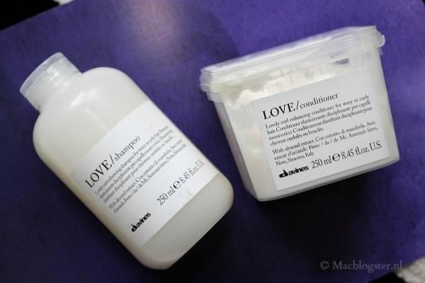 Davines Essential Haircare Love Curl lijn: shampoo & conditioner