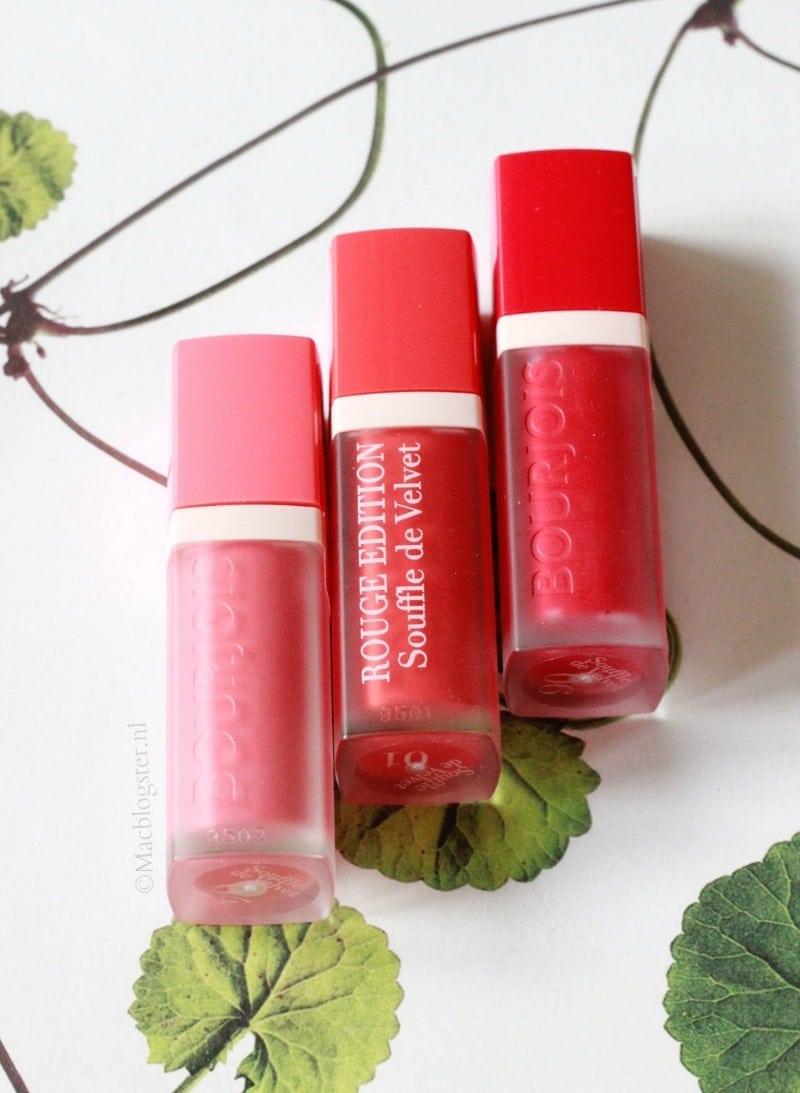 Bourjois Souffle Velvette Matte lipstick droogt lippen niet uit