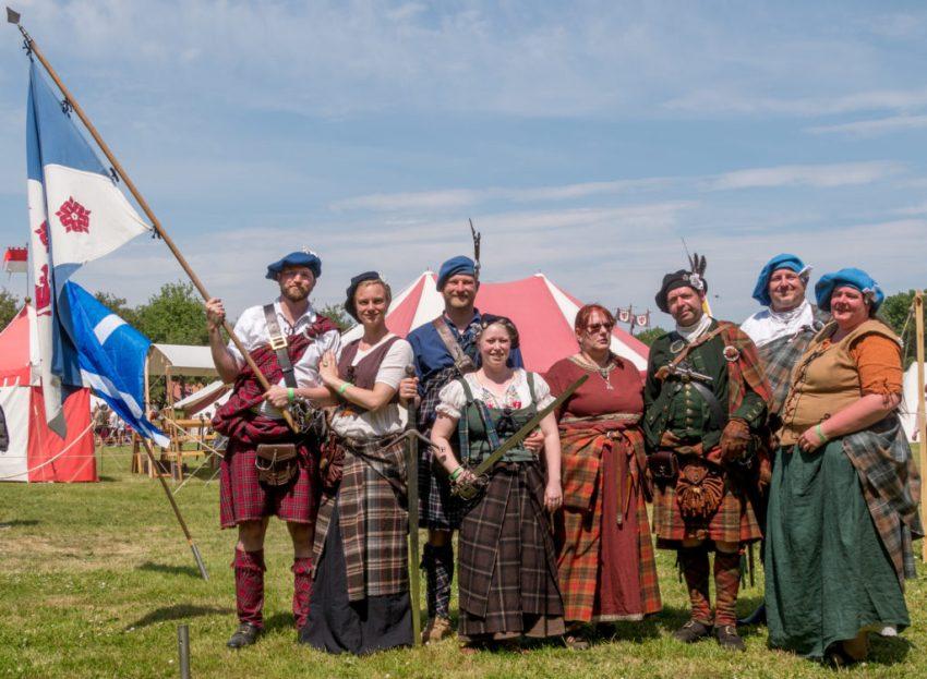 Der Clan MacCait beim Epochenfest 2018