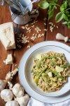 Pasta al pesto con patate e fagiolini - Pasta Pesto Day