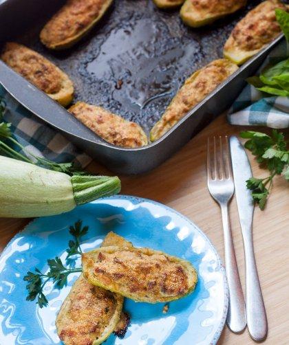 Zucchine ripiene al forno - ricetta estiva