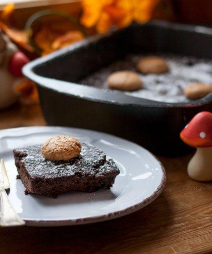 Torta monferrina di mele cacao e amaretti