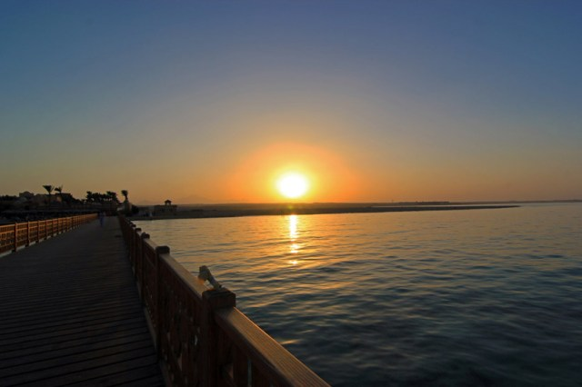 Sunset in Hurghada, Egypt