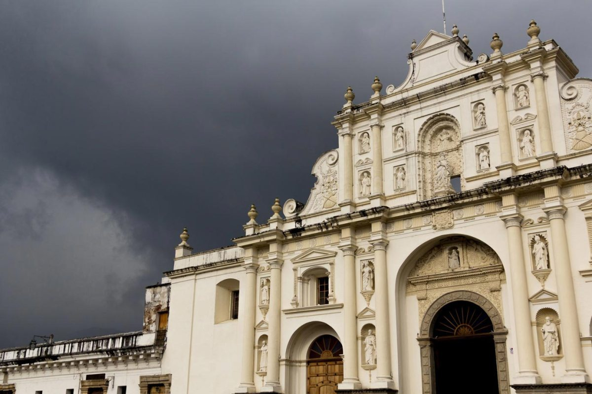 Antigua Cathedral, the heart of Guatemala