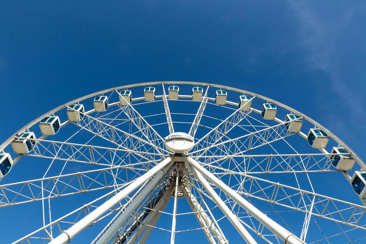 The Big Wheel in Helsinki, Finland