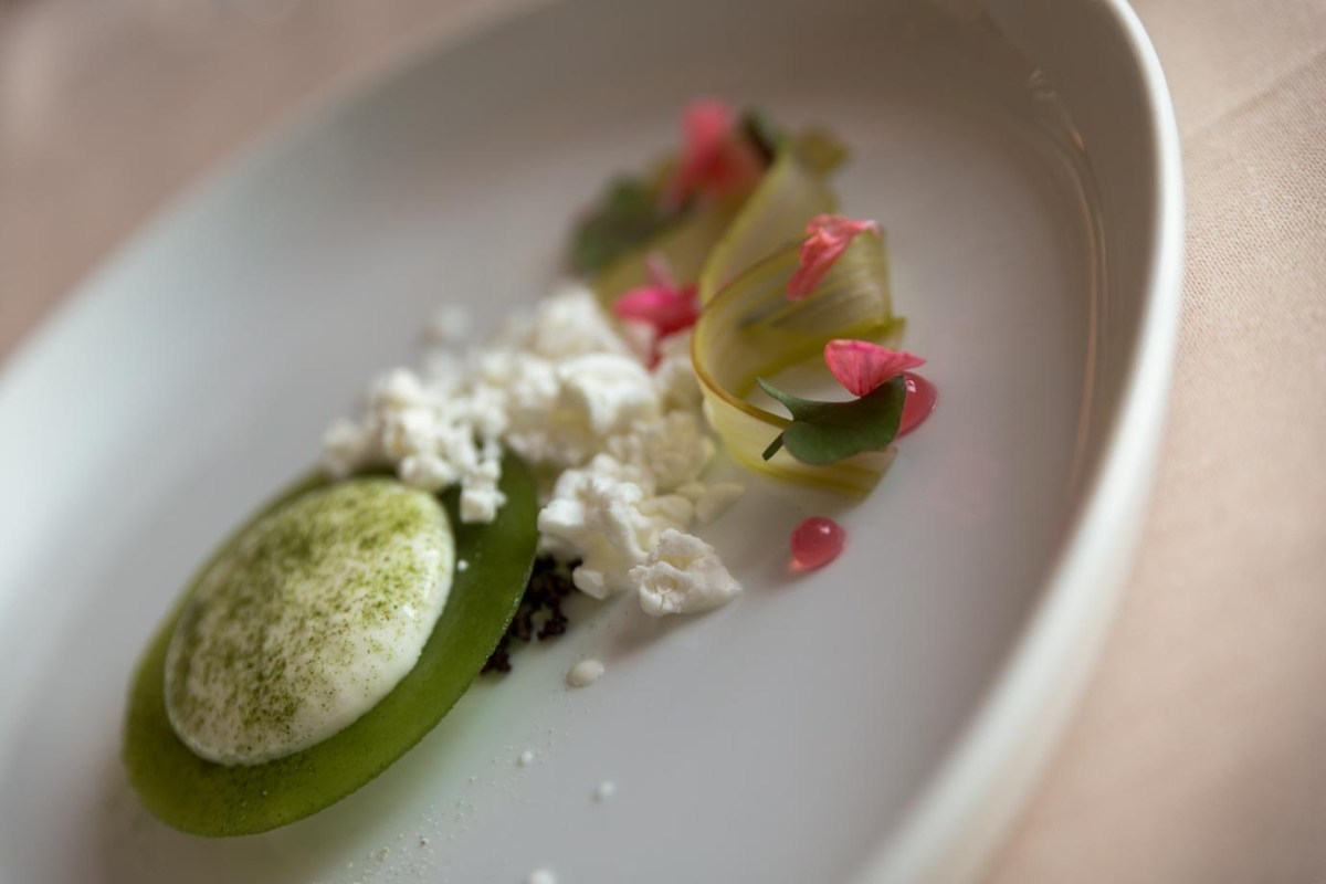 The beautifully artistic food from Olo, a Michelin-starred restaurant in Helsinki, Finland