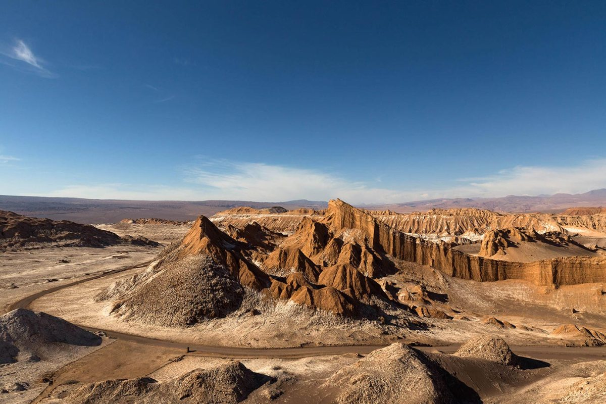 The alien landscapes of the Valle de la Luna, Chile
