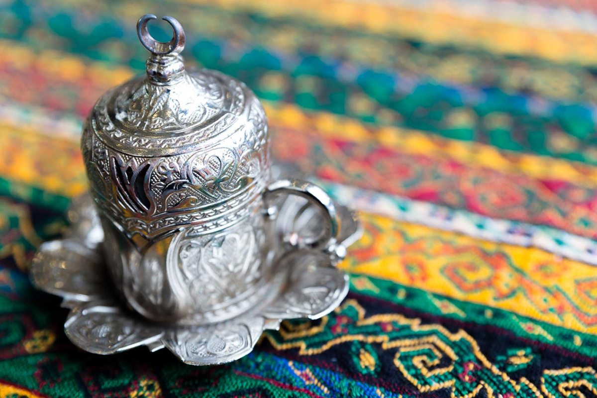 A traditional Turkish cup