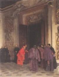 tito-lessi-empfang-eines-kardinals