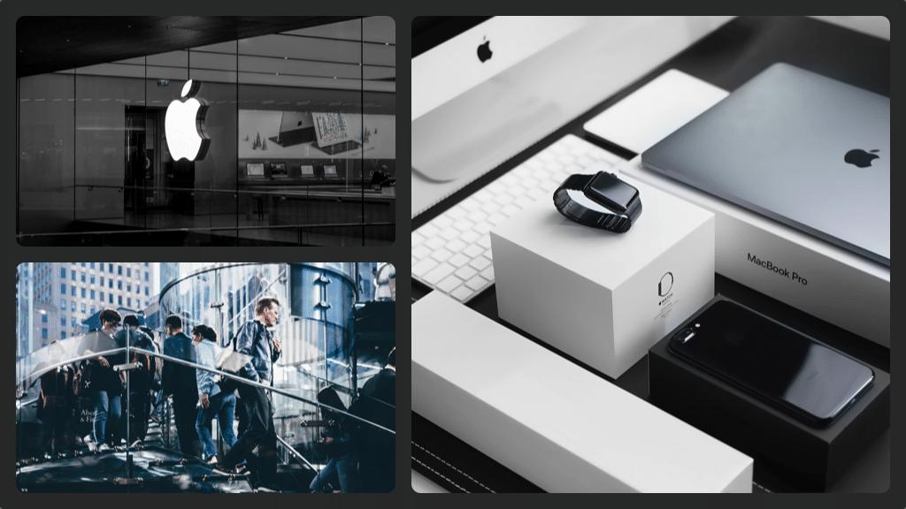 Apple fake 2 collage