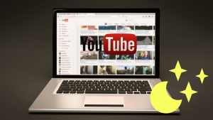Enabling Dark Mode on your YouTube Page