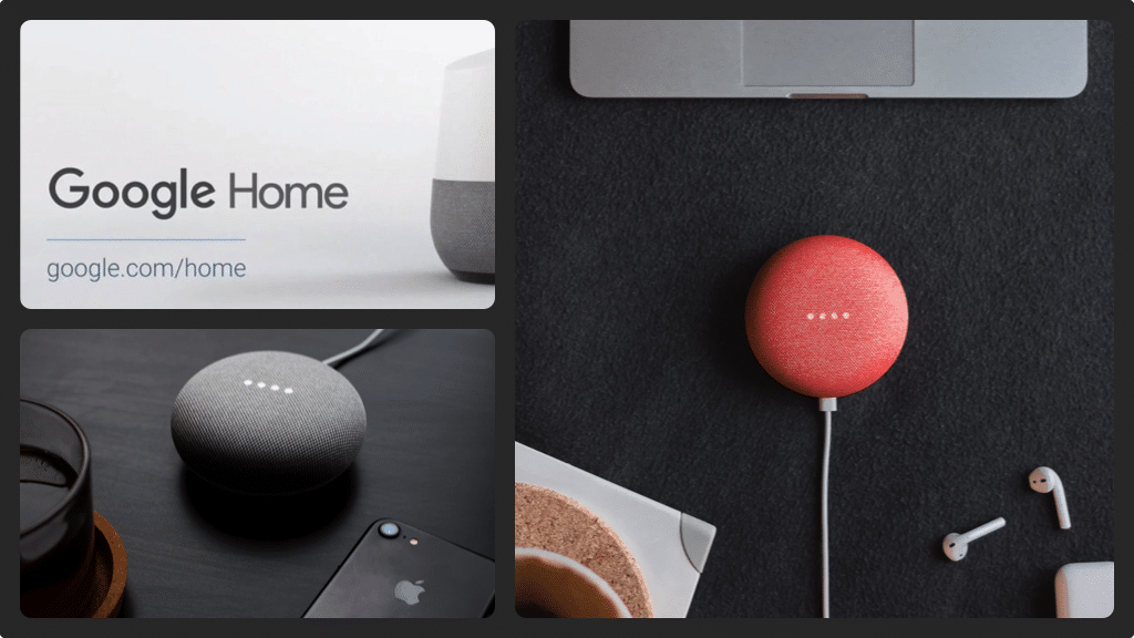 Google Home iPhone collage 1