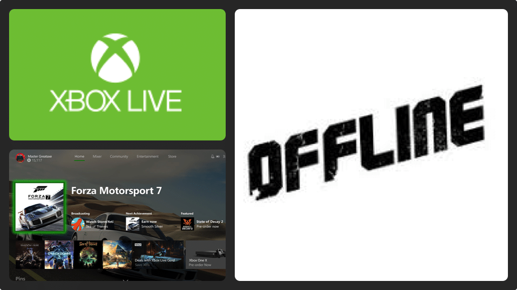 How to be offline on xbox live