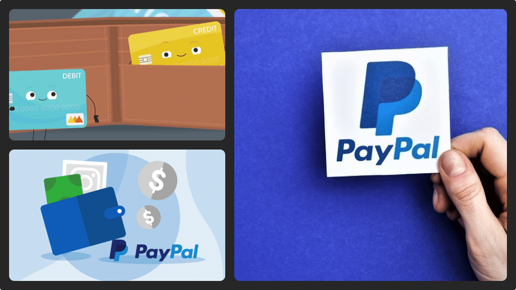 Add credit card to PayPal
