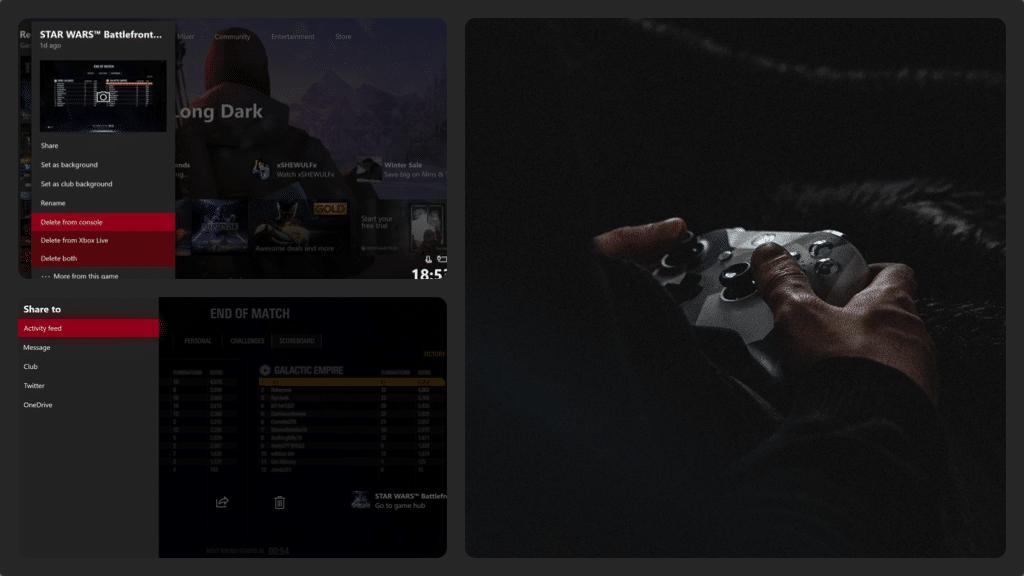 Xbox One screenshot Collage 1