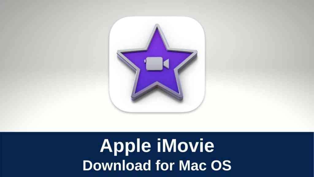 Apple iMovie for Mac
