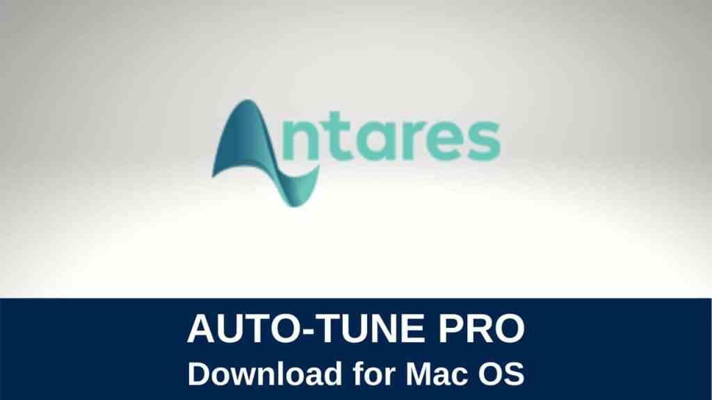 download auto tune pro for mac