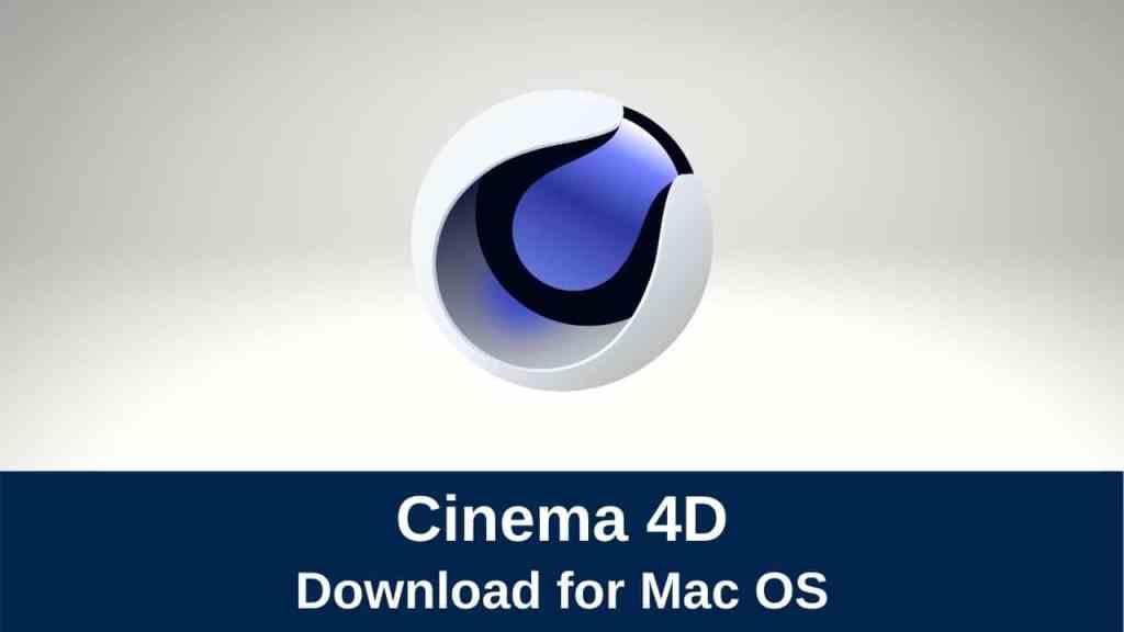 download maxon cinema 4d
