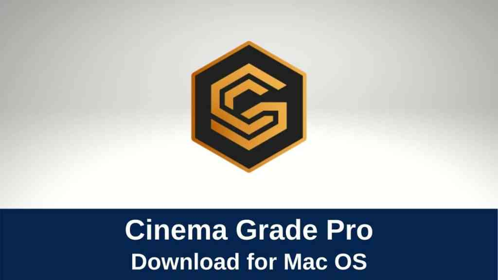 download cinema grade pro