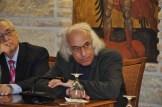 Οι καθηγητές Αθ. Αγγελόπουλος και Χρ. Τερέζης