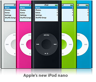 Apple Intros New Ipod Nano With New Aluminum Design In Five Colors And 24 Hour Battery Life Macdailynews