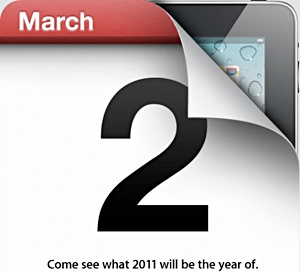 iPad 2nd generation special event