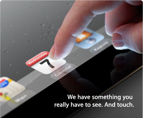 Apple Special iPad Event: 10am on Wednesday, March 7, 2012, Yerba Buena Center for the Arts in San Francisco