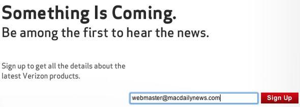 Verizon Wireless: Something is coming