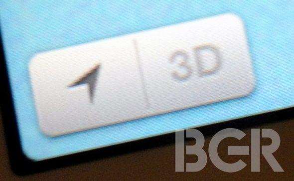iOS 6 3D Maps