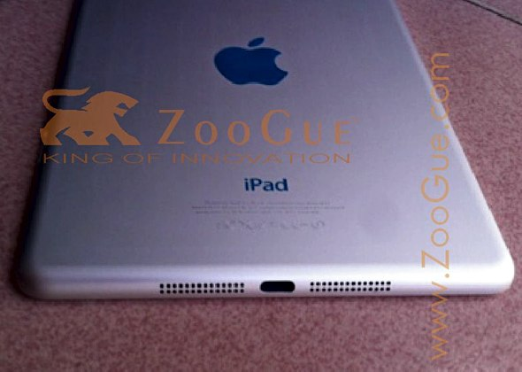 "Purported photograph of the ""iPad mini"" or ""iPad nano"""
