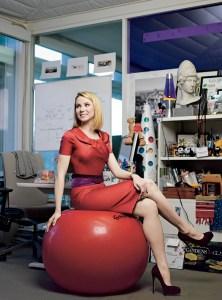 Yahoo CEO Marissa Mayer(photo by Brigitte Lacombe)
