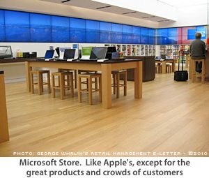 Microsoft Apple Retail Store knockoff