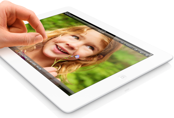 Apple's new 128GB iPad with Retina display