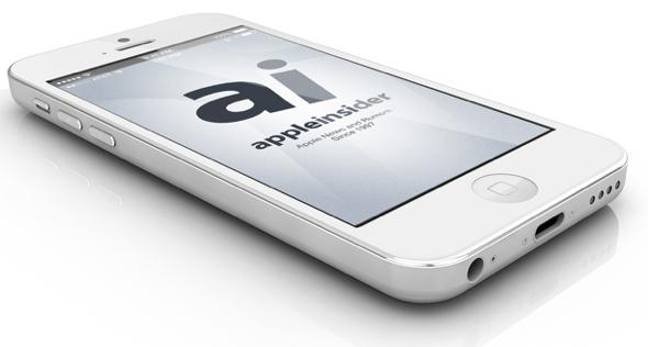 AppleInsider's low-cost iPhone 3D rendering
