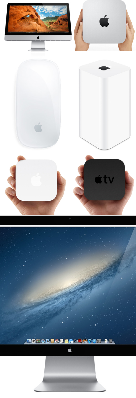 Apple logoed products