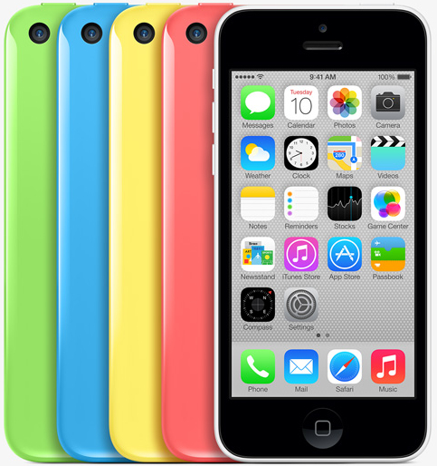 Apple's new iPhone 5c