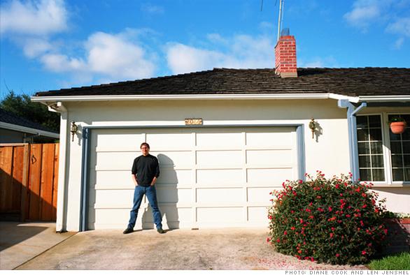 Steve Jobs at 2066 Crist Drive, Los Altos, California
