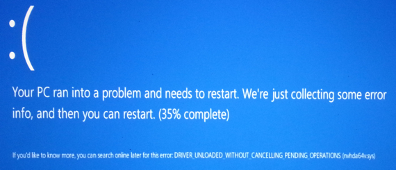 Windows 8ista BSOD
